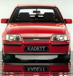 1985 Opel Kadett 1.8 GSi Kadett E