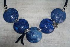 Bleu texturé