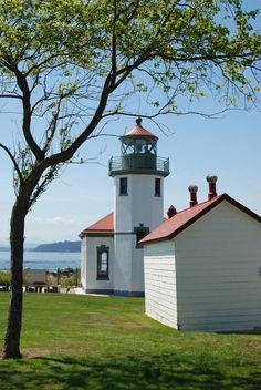 The Alki Point Lighthouse-Seattle, WA.