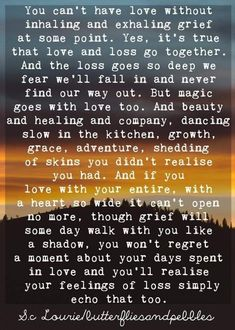 Frame Of Mind, Life Challenges, That's Love, So True, Grief, Mindfulness, Healing, Wisdom, Wellness