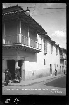 Casa Colonial del Marqués de San Jorge (Bogotá). Foto 1 | banrepcultural.org