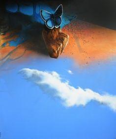 Titolo: Nuovo tempo - cm 120x100 - 2012 Ossola Raffaello