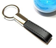 Mehr(TM) Classic Leather Key Chain | Elegant, Timeless, Multi-ring Capable Keychain (Black) Diy Keychain, Leather Keychain, Classic Leather, Key Chain, Imagination, Freedom, Elegant, Luxury, Rings