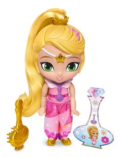 Amazon.com: Fisher-Price Shimmer and Shine Genie Disguise Leah: Toys & Games