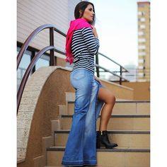 #mulpix Saia longa jeans mais maravilhosa...️ #temnacoral #tudolindo #winter16