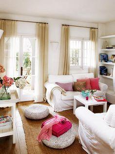 Ambientes - Sabor mediterráneo - Casa rústica - Decoracion casas - Decorar casa, reformas y obras, casas pequeñas, piso de pocos m2 - CASADIEZ.ES