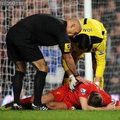 Liverpool midfielder Steven Gerrard will undergo a precautionary scan on a knee injury on Monday afternoon, the Football Association has confirmed. Liverpool Captain, Steven Gerrard, Knee Injury, Wrestling, Football, News, Sports, Lucha Libre, Soccer