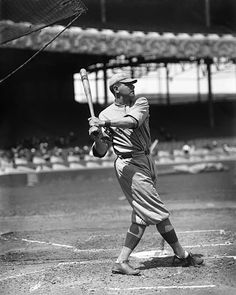 Ruth during batting practice in 1916.