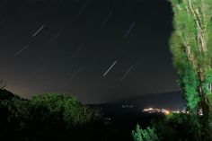 Night photography in Kosovo. #kosovo #village #love #stars #trail #startrail #photography #canon #5d #canon5d #sunrise #trees #green #summer #2012 #villages #krstec #dragas #gora #goranci #goraninan #people #mountain #koritnik #sar #sarplanina #planina #balkan #beauty #landscape #night #nightphotography #lights #long #exposure #longexposure #sky #beautiful #seconds #all #sun
