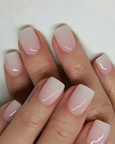 40 Lovely Nail Art Designs 2019 Must Try Explore Your Creative And Elegant Side Square Nails Engagment Nails With a small amount of the fine gold glitter on the nail polish brush, lightly paint two thirds of the top part of the nail Picture Credit Cute Nails, Pretty Nails, Romantic Nails, Nail Pictures, Neutral Nails, Sns Nails Colors, Dip Nail Colors, Dipped Nails, Nagel Gel