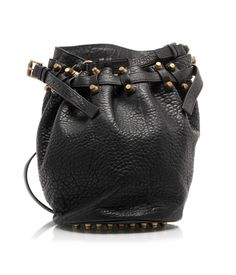 Diego bucket bag with shoulder strap by Alexander Wang #bag