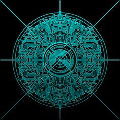 Tron Circuitry by guynietoren.deviantart.com on @DeviantArt Geometric Art, Geometric Designs, Iphone Wallpapers, Cube World, Tron Legacy, Tech Art, Arte Cyberpunk, Desenho Tattoo, Cute Cartoon Wallpapers