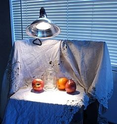 Mary Aslin - Blog: Inexpensive and functional still life setup