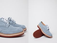 My Blue Suede Shoes #Mens #Fashion