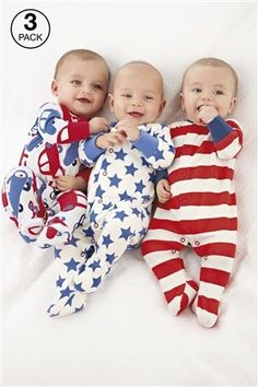 z would adore this if he saw it.    www.next.co.uk/...  baby boy american flag sleep suits sooo cute