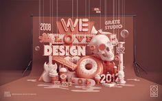 Fresh Typography Inspiration : We Love Design