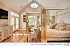 Echelon Custom Homes For those people who do not want to go modern, here is a treat for you – a traditional bedroom design. It has the comfort and coziness of a bedroom you grew up with.