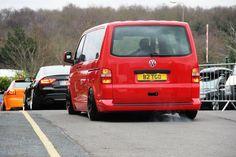 VW Transporter T5 - slammed Vw Bus, Car Volkswagen, New Vw Van, Vw Vanagon, T5 Kombi, Vw Transporter Van, Car Camper, Cool Vans, Old School Cars