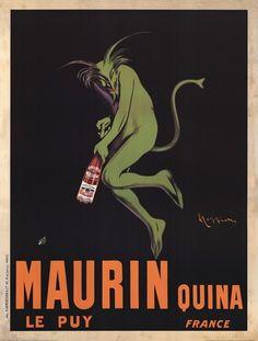 Maurin Quina Art Print by Leonetto Cappiello