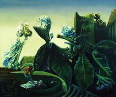 Max Ernst, The Nymph Echo, 1936.