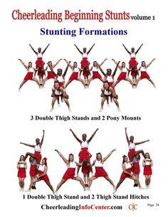 Easy Cheer Stunts, Cheer Tryouts, Cheerleading Cheers, Cheer Coaches, Cheerleading Stunting, Cheer Tips, Cheerleader Gift, Cheer Coach Gifts, School Cheerleading