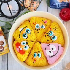 Cute Food, Good Food, Kitchen Tops, Spongebob, Bento, Food Styling, Kids Meals, Food To Make, Tea Party