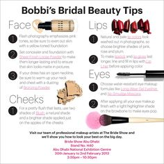 On the most important day of her life the Duchess of Cambridge entrusted her face to none other then Bobbi Brown. Here are her tips on how to achieve a look fit for a queen!