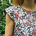 Après avoir flashé à retardement sur la blouse Cézembre cet hiver, je m'apprête à passer un été en robe Malo, un patron de la même marque,...
