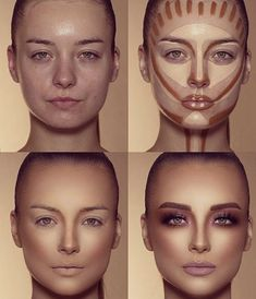 How To Do Make-up – Step By Step Ideas For The Good Look Spotlight contour hypnaughty.make-up samer khouzami mild pores and skin Makeup Hacks, Makeup Inspo, Makeup Inspiration, Makeup Ideas, Pro Makeup Tips, Makeup Goals, Eye Makeup Designs, Makeup Trends, Hair Hacks
