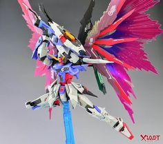 Painted Build: DM 1/100 Destiny Gundam [Metal Build ver.] - Gundam Kits Collection News and Reviews