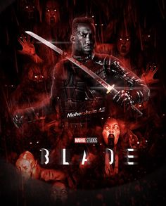 Eric Brooks, Blade, Studios, Marvel, Superhero, Movie Posters, Movies, Films, Film Poster