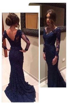 2015 Bateau Evening Dresses Mermaid With Applique Lace And Tulle USD 189.99 VUP91BG33T - VoguePromDressesUK: