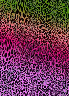 animal print colorido vector de fondo sin fisuras