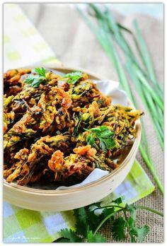 Khazing Maroi bora Shrimp chives pakora/ fritters