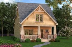 This bungalow design floor plan is 2211 sq ft and has 4 bedrooms and has 3.00 bathrooms.