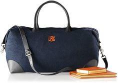 Essex Wool Weekender Overnight Bag
