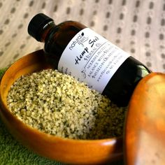Hemp Seed Herbal Body Oil by naturalgrace on Etsy #ecoetsy