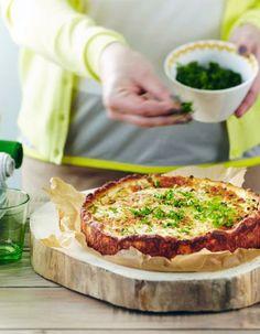 Ruokaisa kinkkupiirakka - beautiful savory ham pie recipe