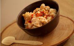 Soslu Karnabahar Tarifi Potato Salad, Cauliflower, Salsa, Grains, Potatoes, Vegetarian, Favorite Recipes, Vegetables, Cooking