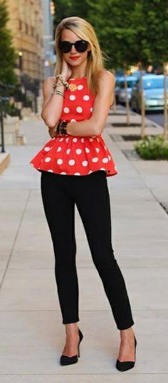 Minnie Mouse - <3 Fashion Style