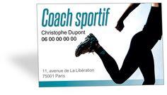 Cartes De Visite Coach Sportif