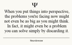 #Perspective #problems #the problem you are facing now might not be as big as you might think