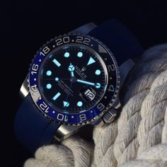 Lume shot for the win! Customize your Rolex with Everest Bands