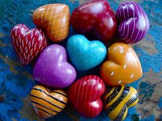 love these soapstone hearts