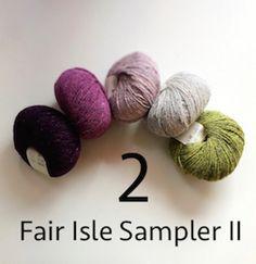 FIS-II pakket Felted Tweed 2 306
