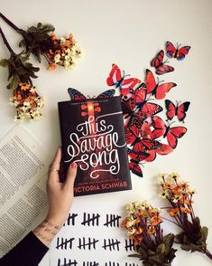 This Savage Song by Victoria Schwab Ya Books, I Love Books, Books To Read, Book Flatlay, Book Aesthetic, Cursed Child Book, Book Fandoms, Book Of Life, Book Photography