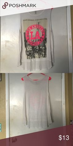 Summer tank! Good condition, no stains or rips's, any questions just ask, no trades. Are you ready for the summer? Tops Tank Tops