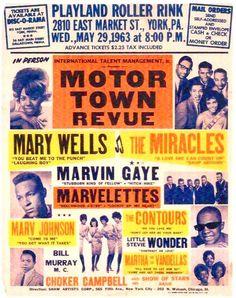 A Vintage Motown Revue Tour Poster Tamla Motown, Vintage Concert Posters, Tour Posters, Music Images, Soul Music, Music Music, Indie Music, Music Photo, Pop