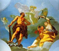 Beaumont Claudio Francesco (Torino, 1694-1769) - Allegoria delle virtù regie