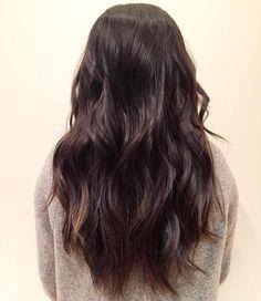 Waves by @mitchelldoesstuff  #fashion #hair #longhair #yeg #edmonton #yeghair #yegstyle #yegsalon #headlinessalonspa #greatday #waves #waveyhair #brunette #hairstyle